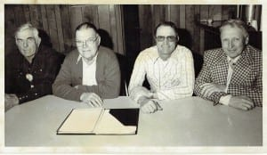 Conservation District Supervisors in 1977