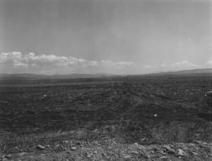 Helena Valley, view from West to East (Spokane Hills in background) dated July 17, 1959