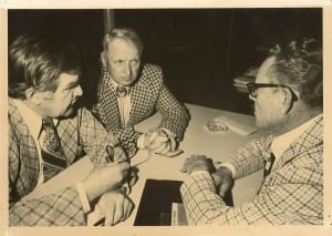 Ole Ueland, Frank Thompson and J. Art Olsen-Date circa mid 1970's