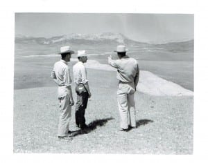July 30, 1951, Rocky Mountain Front, irrigation project